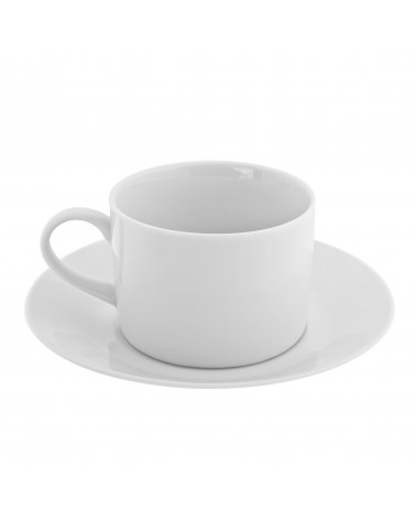Royal White   Can Cup Saucer (8 oz.)