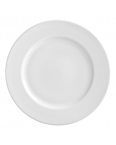 "Royal White   12"" Charger Plate"