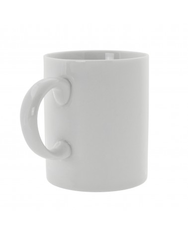Royal White   C-Handle Straight Sided Mug (8 oz.)
