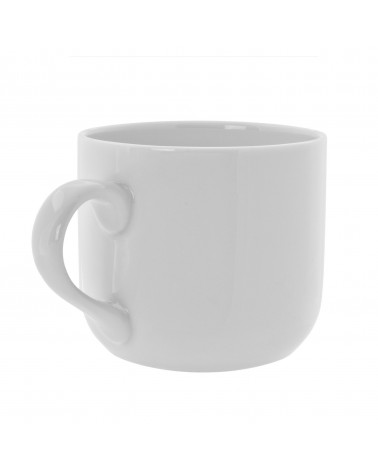 Royal White   Round Latte Mug (10 oz.)