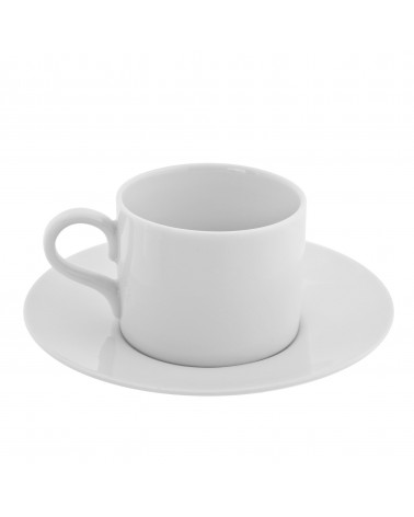 Royal White   Can Shape Demi Cup Saucer (4 oz.)