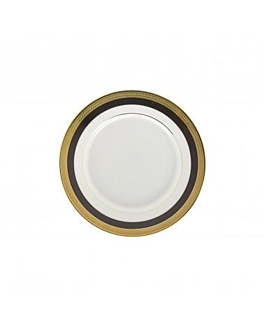 "Sahara Black 6"" Bread & Butter Plate"