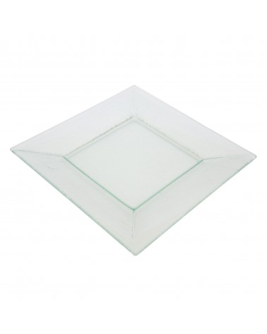 "Sheer Clear 11"" Square Plate"