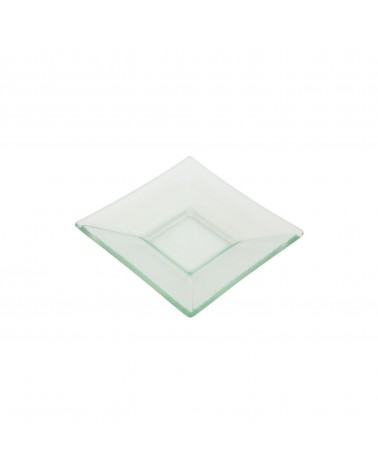 "Sheer Clear 6"" Square Plate"