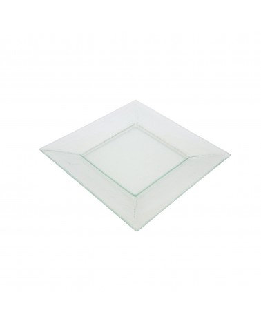 "Sheer Clear 8"" Square Plate"