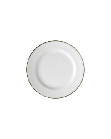 "Silver Band  6"" Bread & Butter Plate"