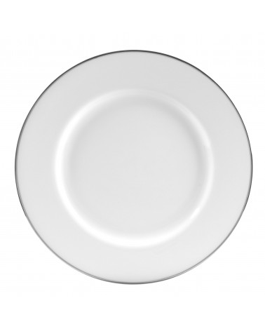 """Silver Band  12"""" Charger Plate"""