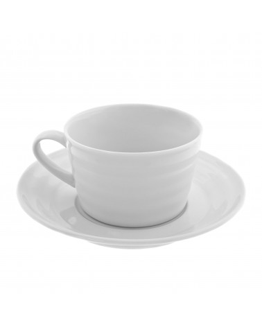 Swing White  Cup Saucer (9 oz.)