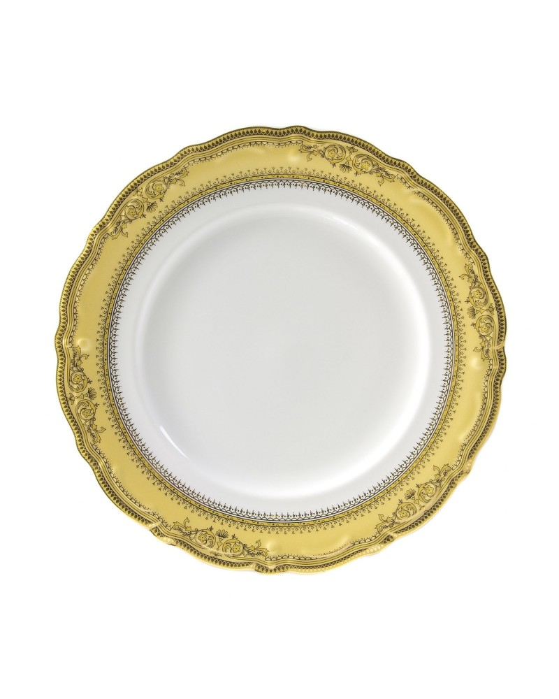 "Vanessa Gold  10.5"" Dinner Plate"
