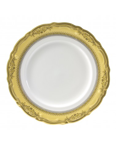 "Vanessa Gold  12"" Charger Plate"
