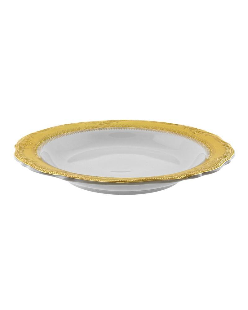 "Vanessa Gold  9"" Rim Soup (8 oz.)"