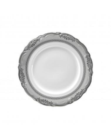"Vanessa Platinum  9"" Luncheon Plate"