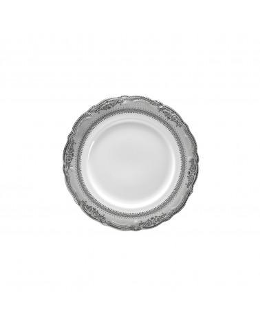 "Vanessa Platinum  6"" Bread & Butter Plate"