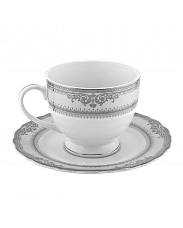Vanessa Platinum  Ballet Cup Saucer (6 oz.)