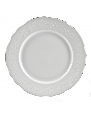 """Vine Silver Line  13"""" Charger Plate"""