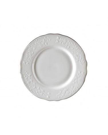"Vine Silver Line  7.5"" Salad Dessert Plate"