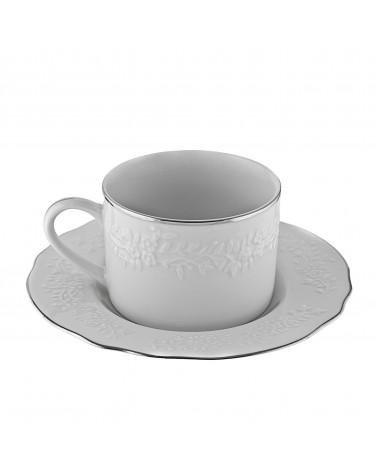 Vine Silver Line  Cup Saucer (7 oz.)