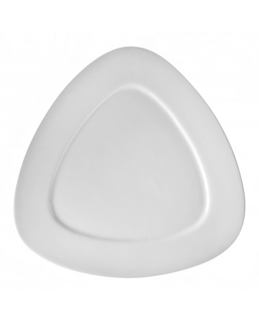 "White Triangle  12"" Tri Plate"
