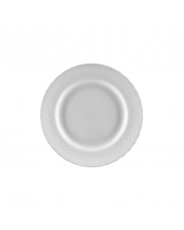 """White Wicker 6"""" Bread & Butter Plate"""