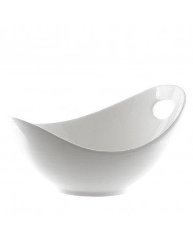 "Whittier 10"" Fruit Bowl with Cut Out"
