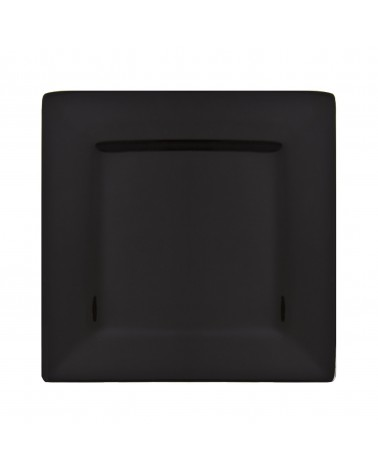 "Whittier 10"" Black Square Plate"