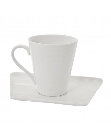 Whittier Trapezoid Cup Saucer (8 oz.)