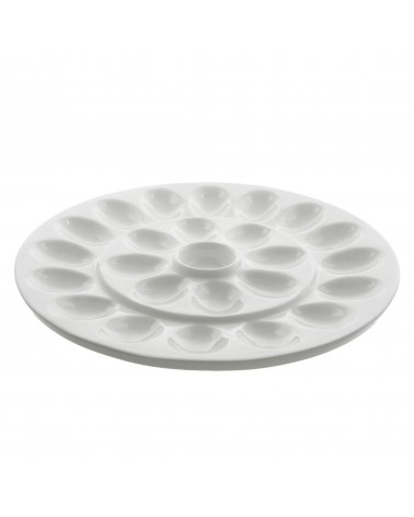 "Whittier 13"" Egg Platter"