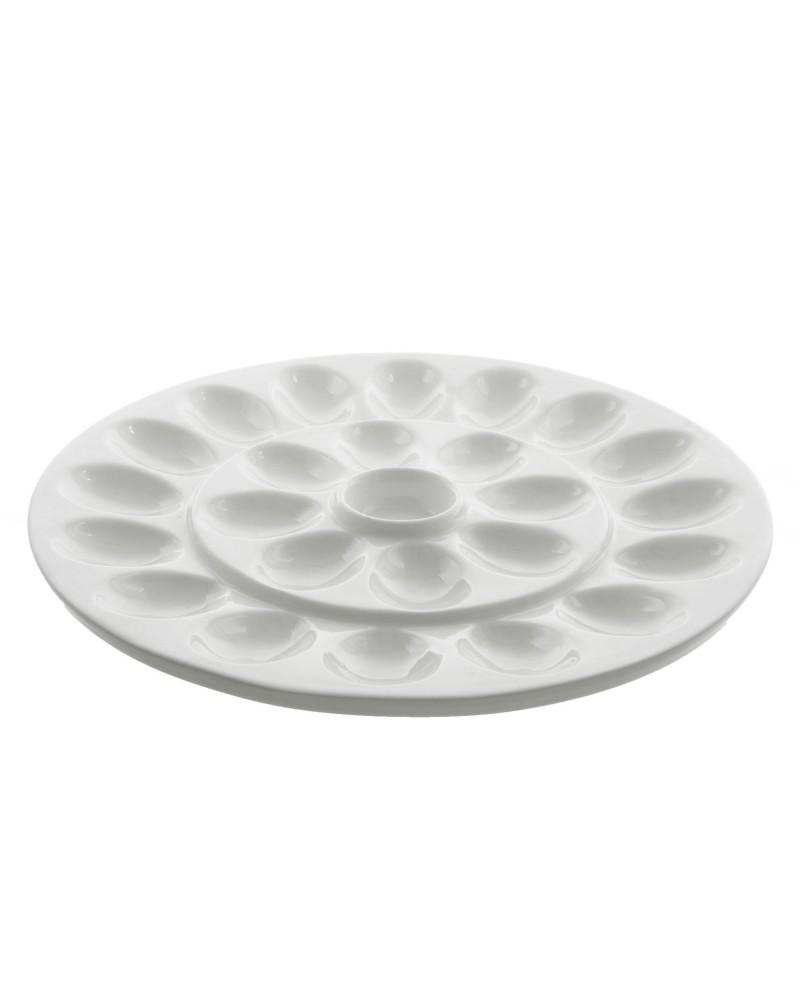 """Whittier 13"""" Egg Platter"""