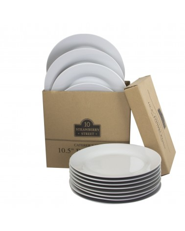 Caterer's Set of 12 Dinner Plates