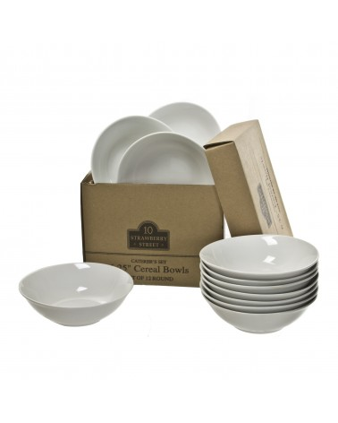 Caterer's Set of 12 Cereal Bowls