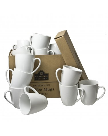 Caterer's Set of 12 Mugs