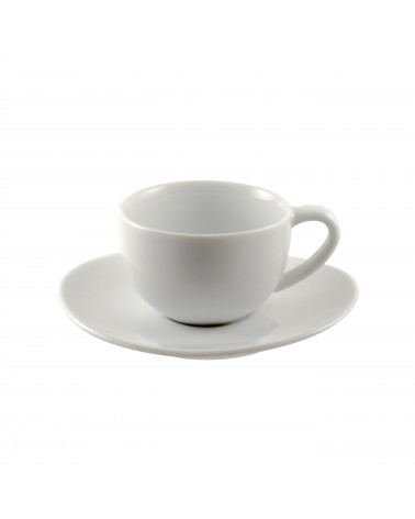 Royal Oval White Demi Cup/Saucer