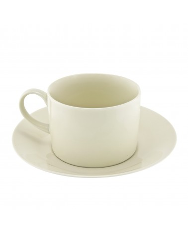 Royal Cream Collection Can Cup/Saucer