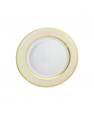 Iriana Gold Salad/Dessert Plate