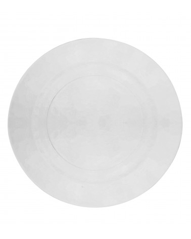 Hammered Glass Charger Plate