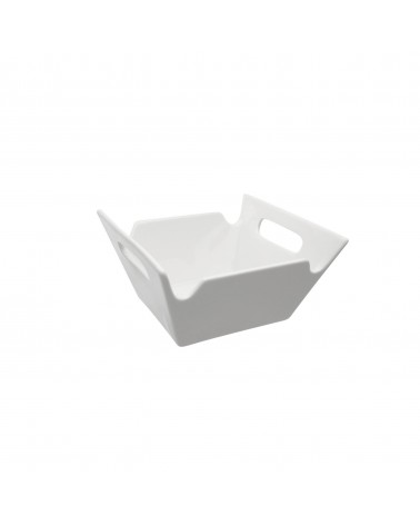 Whittier Square Bowl W/Handles 4""