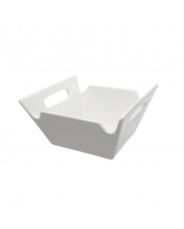 Whittier Square Bowl W/Handles 6""