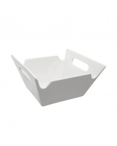 Whittier Square Bowl W/Handles 10""