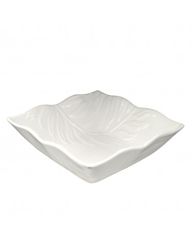 Boca Embossed Square Bowl 12""