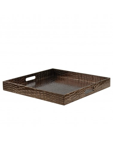 Gator Brown Square Tray