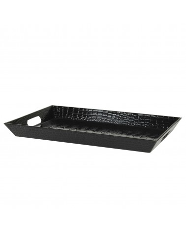 Gator Black Rectangular Tray