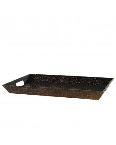 Gator Brown Rectangular Tray