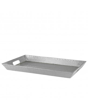 Gator Silver Rectangular Tray