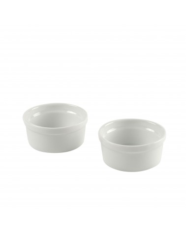 Delano White Ramekin Set of 2