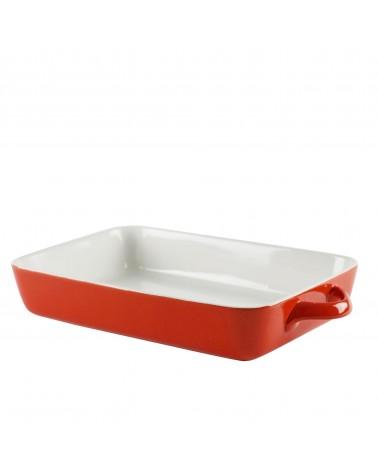 "Sienna Red Rectangular Bakeware 12"""
