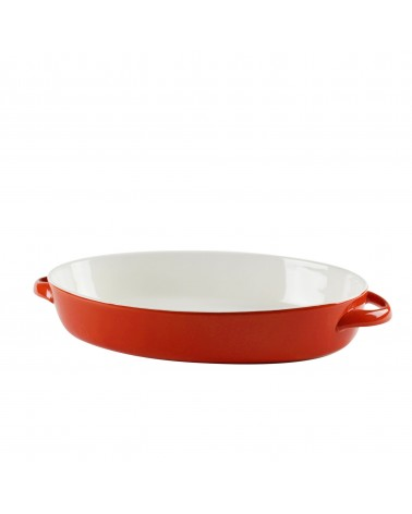 Sienna Red Oval Bakeware 13""