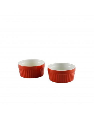 Sienna Red Souffle Set Of 2
