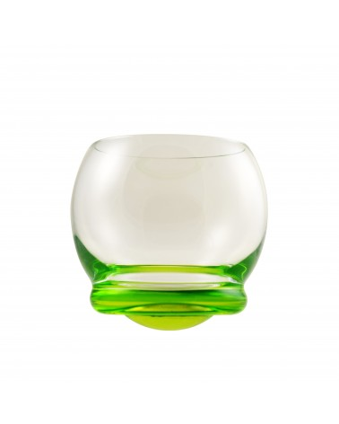 Bell Wobble Glass Green