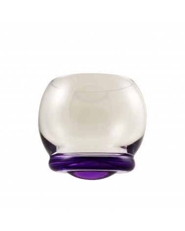 Bell Wobble Glass Purple