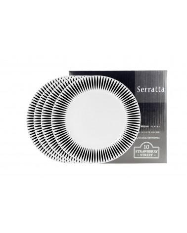 Serratta Salad/Dessert Plate Set Of 4